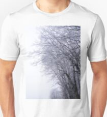 Hoarfrost in the mist T-Shirt