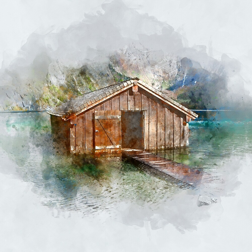 Lake Cabin by Tubbster89