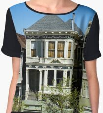 San Francisco California Architecture Women's Chiffon Top