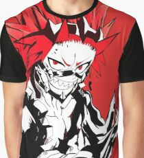 Eijirou kirishima red riot Graphic T-Shirt