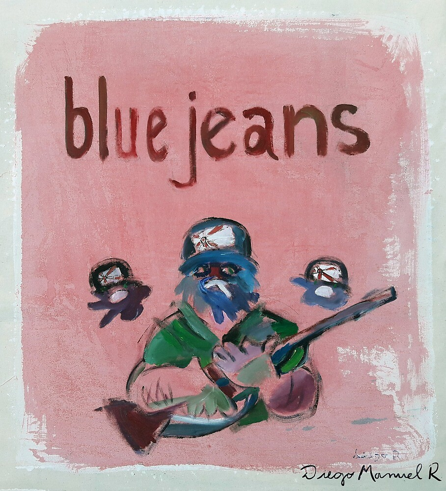 Blue Jeans by Diego Manuel Rodriguez