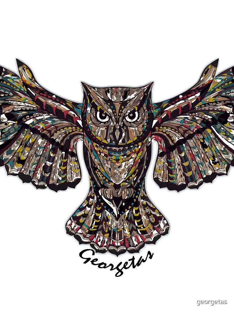 Owl by georgetas