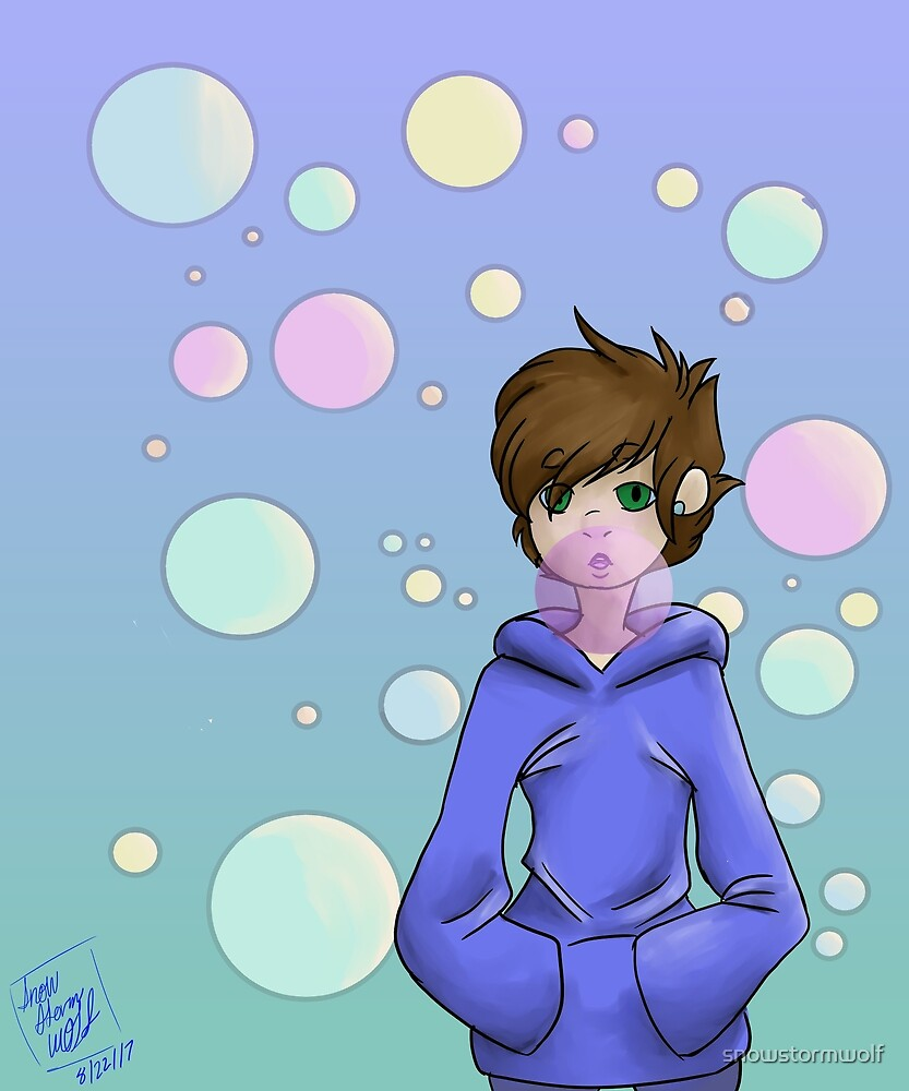 bubble gum pop by snowstormwolf