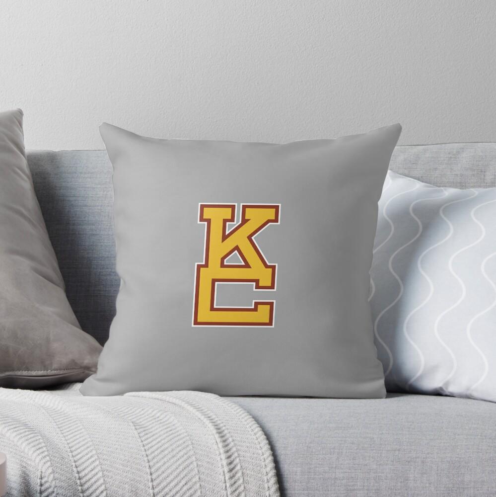STACKED KC Throw Pillow