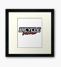 Old School BMX - Bicycle Motocross Framed Print