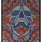 Skull Multi Color  by kimruth66