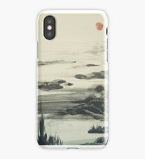 Chinese/Japanese landscape design iPhone Case/Skin