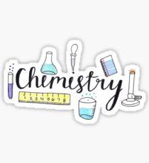 Pegatina Química