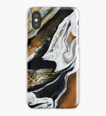 PUMPKIN SPICE MARBLE • I  iPhone Case
