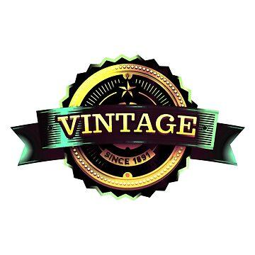 Retro Vintage T-shirt/Hoodie 2 by EMAGICSTUDIOS