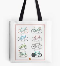 Bicycle Season Tote Bag