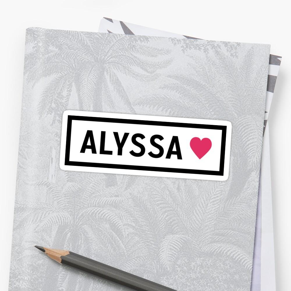 Alyssa by love2