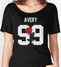 Jack Avery - Rose Women's Relaxed Fit T-Shirt