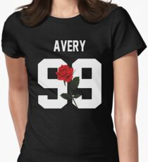 Jack Avery - Rose Women's Fitted T-Shirt