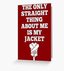 Straightjacket Greeting Card