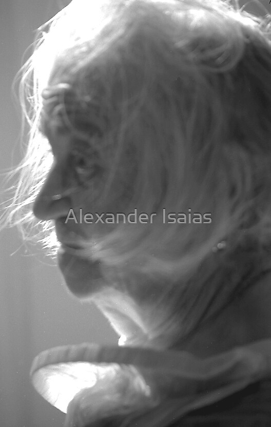 """My Grandmother as """"Spirit"""" by Alexander Isaias"""