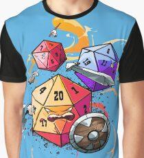 Dice Warriors Graphic T-Shirt