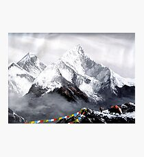 Panoramic View Of Everest Mountain Photographic Print