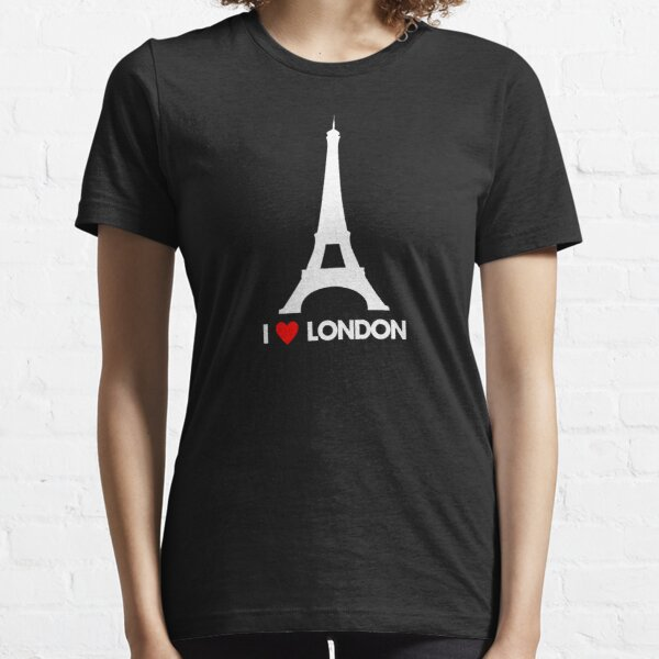 I Heart London Eiffel Tower - Joke T-Shirt  Essential T-Shirt