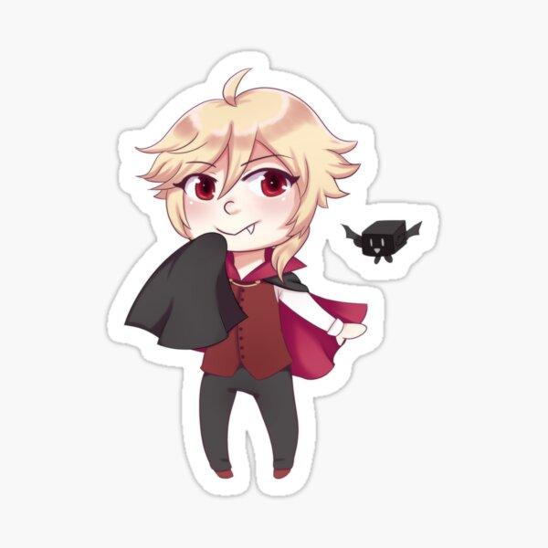 Yohioloid Chibi Vampire Sticker