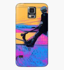 Auf Kante - Bremsungs-Roller-Grafik Hülle & Skin für Samsung Galaxy