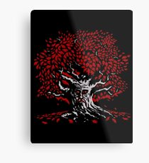 Winterfell Weirwood Metal Print