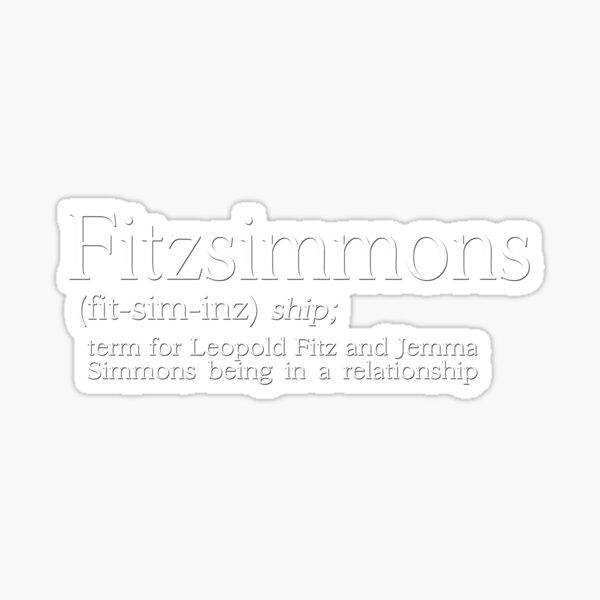 Fitzsimmons Defined Sticker