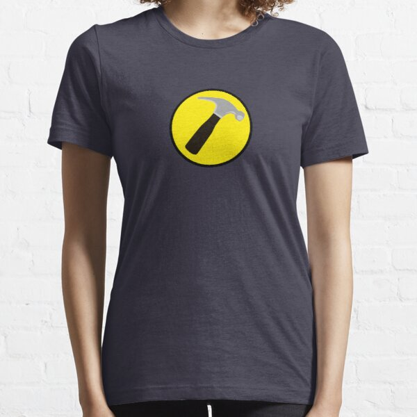 Captain Hammer (outlined) Essential T-Shirt