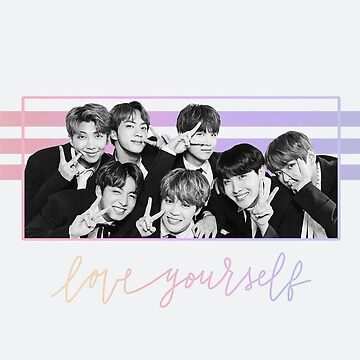 bts ot7 - love yourself by CJdigitaldesign