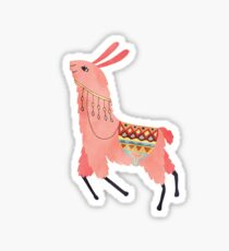 Cute Lama Sticker Sticker