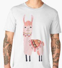 Cute Lama Sticker Men's Premium T-Shirt