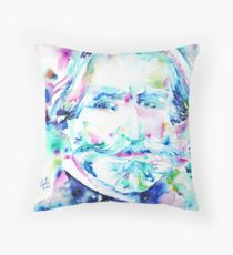 VERDI - watercolor portrait Throw Pillow