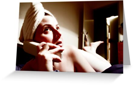 sorry, i'm washing my hair... by Bronwen Hyde