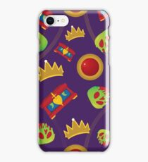 Evil Queen Icons iPhone Case/Skin