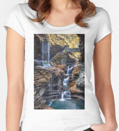 FLowing Dream Women's Fitted Scoop T-Shirt