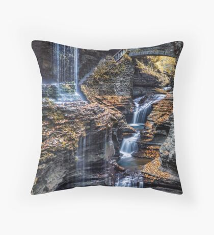 FLowing Dream Throw Pillow