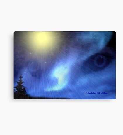 NORTHERN SPIRIT EYES Canvas Print