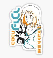 FLCL Mamimi and Ta-kun Sticker