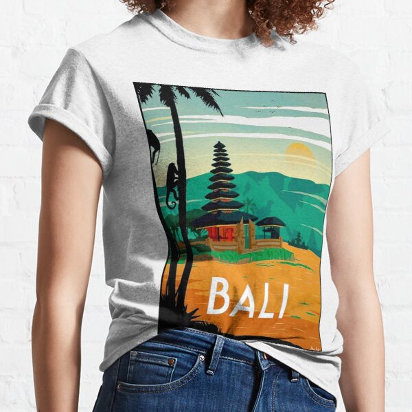 BALI : Vintage Travel and Tourism Advertising Print Classic T-Shirt