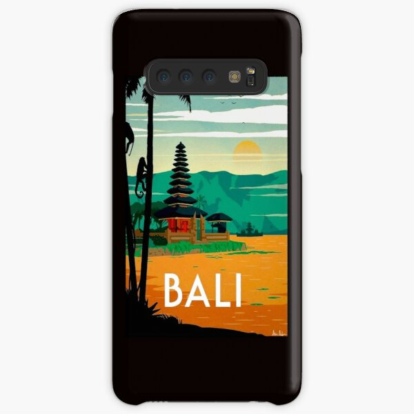 BALI : Vintage Travel and Tourism Advertising Print Samsung Galaxy Snap Case