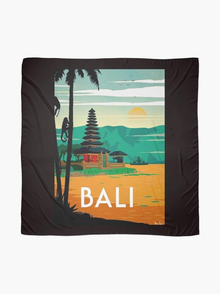 Vista alternativa de Pañuelo BALI: Publicidad publicitaria de viajes y turismo vintage
