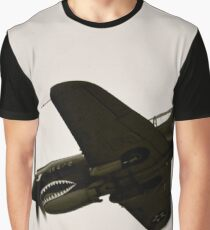 Flying Tiger WW II Fighter Plane Graphic T-Shirt