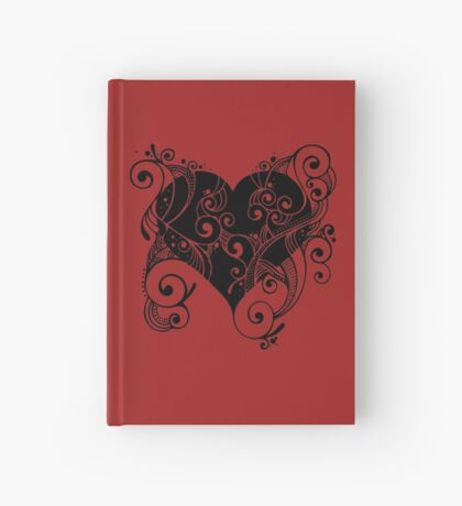 Ornate Heart Hardcover Journal