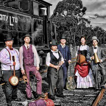 Mojo & The Train 2 by rossco