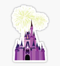 Castle Fireworks Sticker