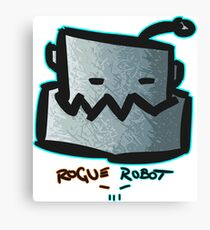 CHOMP By Rogue Robot Canvas Print