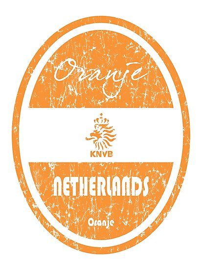 Football - Netherlands (Distressed) by madeofthoughts