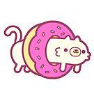 Donut Cat by cronobreaker