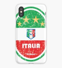 Football - Italy (Distressed) iPhone Case/Skin
