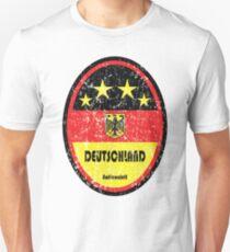 Football - Germany (Distressed) Unisex T-Shirt